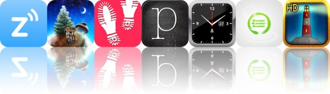 Today's Apps Gone Free: Ziner, Little Galaxy, Lumen Trails And More