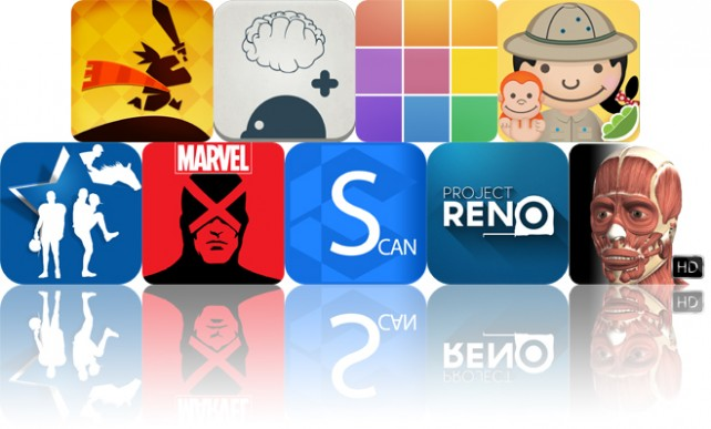 Today's Apps Gone Free: Quest Rush, SecondBrain, Polyphonic And More