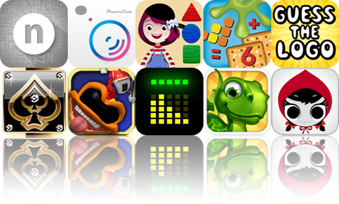 Today's Apps Gone Free: Numerity, PowerCam 7, Shapes And Puzzles And More