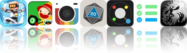 Today's Apps Gone Free: Flick Champions Winter Sports, Toca Cars, Camera Fx8 And More