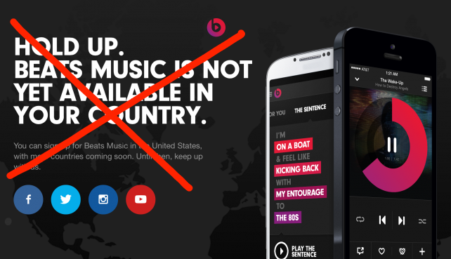 How-To: Access Beats Music Outside Of The US