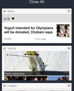 Bing For The iPhone Update Brings Multiple Search Management And More