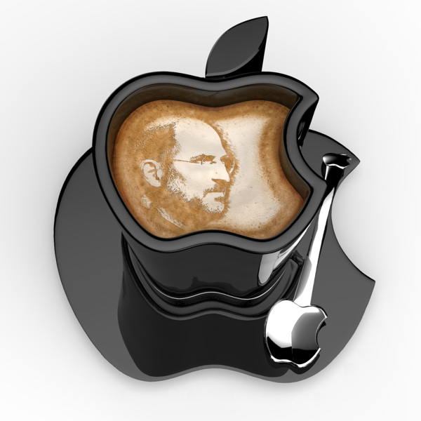 Have An 'Apple iCup' Of Joe On Steve Jobs' Birthday