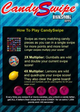 CandySwipe Developer Battling Candy Crush Saga Over His Trademark