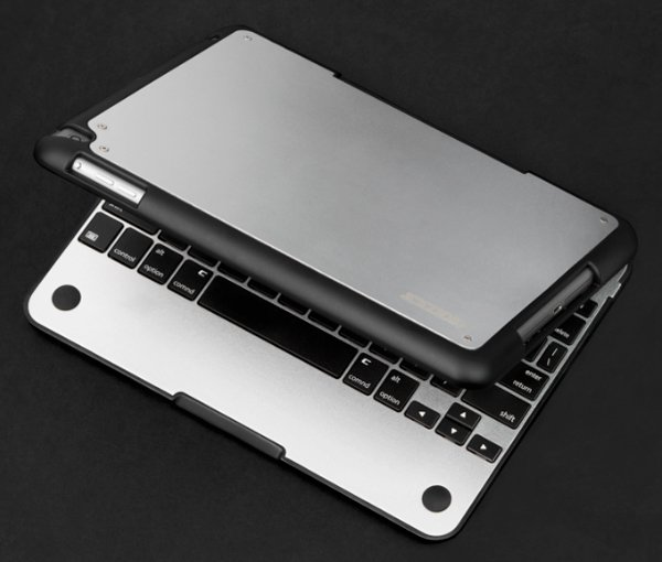 The CruxENCORE Case Turns An iPad Air Into A MacBook Lookalike