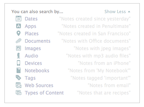 Evernote Updates Its Mac App To Add A Descriptive Search Feature