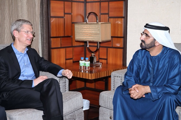 Globetrotting: Apple CEO Tim Cook Calls In On United Arab Emirates, Visits Resellers