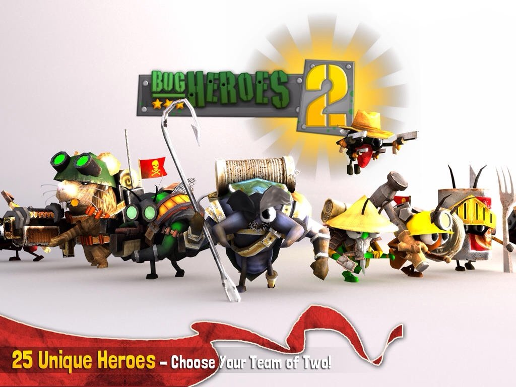 Engage In Bigger Battles And Exterminate Your Enemies In Bug Heroes 2