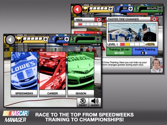 Train Your Team And Race Toward The Championship In Eutechnyx's NASCAR Manager