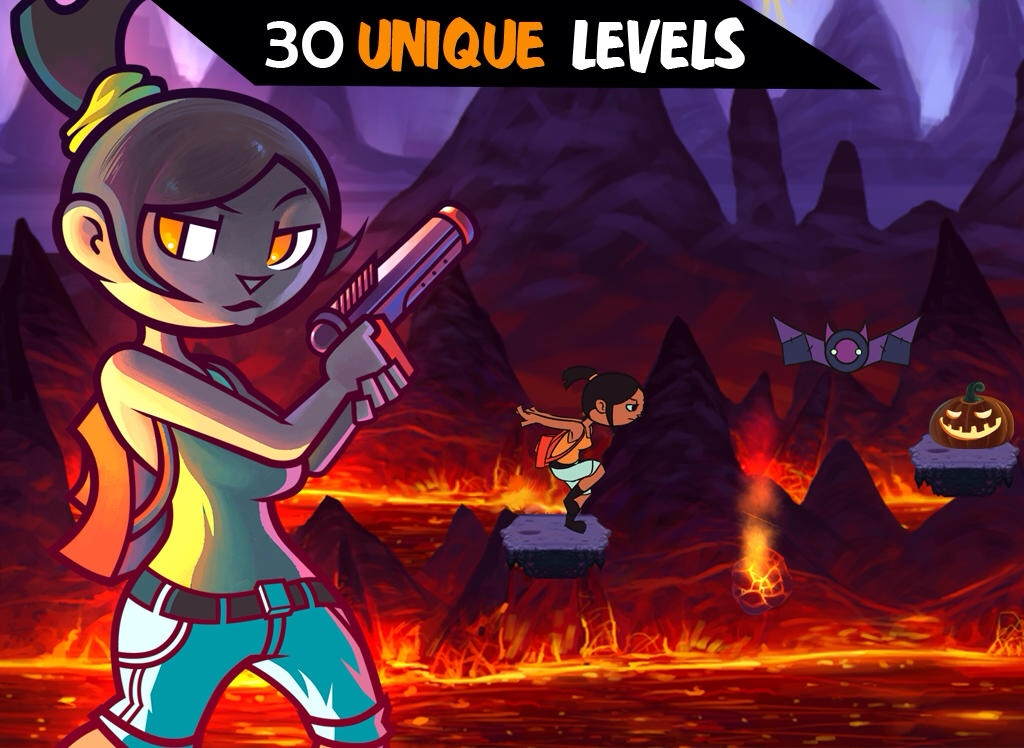 Save Your Friends From The Wicked Witch In The New 2-D Platformer Ava's Quest HD