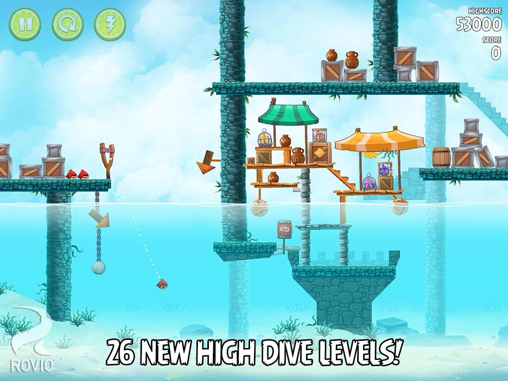 Rovio Updates Angry Birds Rio To Version 2.0 With New Episode Based On 'Rio 2'