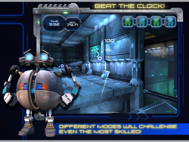 Mini-Golf Gets Robots, Blasts Into Outer Space In Astro Golf For iOS