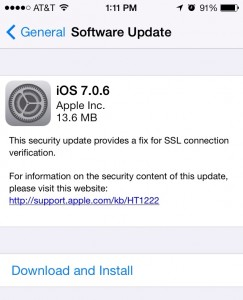 Apple's iOS 7.0.6 Breaks evasi0n7, But It Can Easily Be Fixed