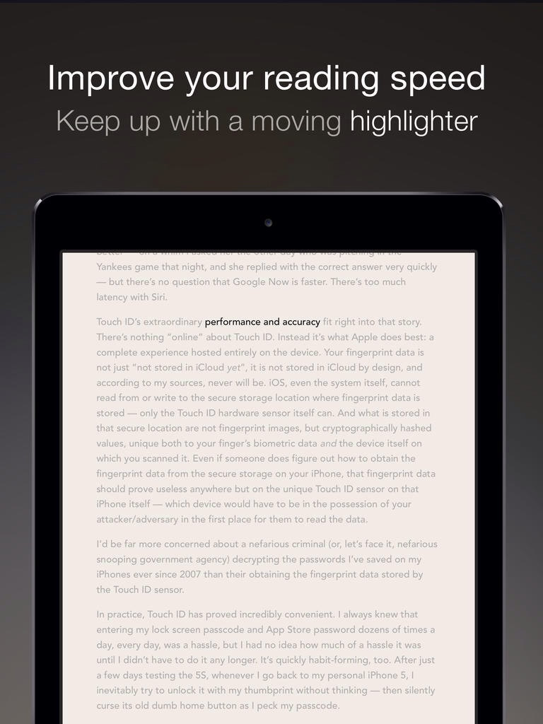 Outread Speed-Reading App Gains iPad Support And More Features In First Major Update