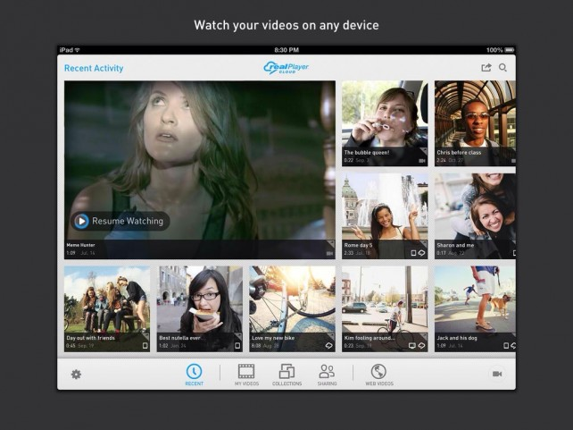 RealPlayer Cloud Update Introduces New Referral Scheme And SMS Sharing