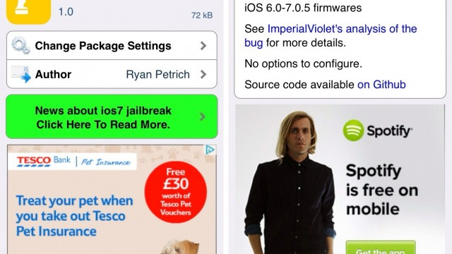 Cydia Tweak: How To Install iOS 7.0.6's SSL Security Patch Without Updating