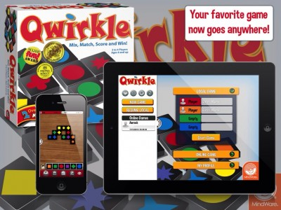 MindWare's Award-Winning Qwirkle Tile-Laying Board Game Now Available On iOS