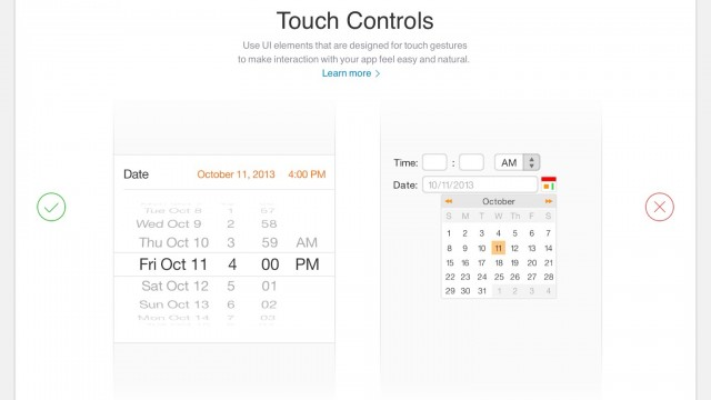 Apple's Website Is Now Advising Developers On How To Design For iOS 7
