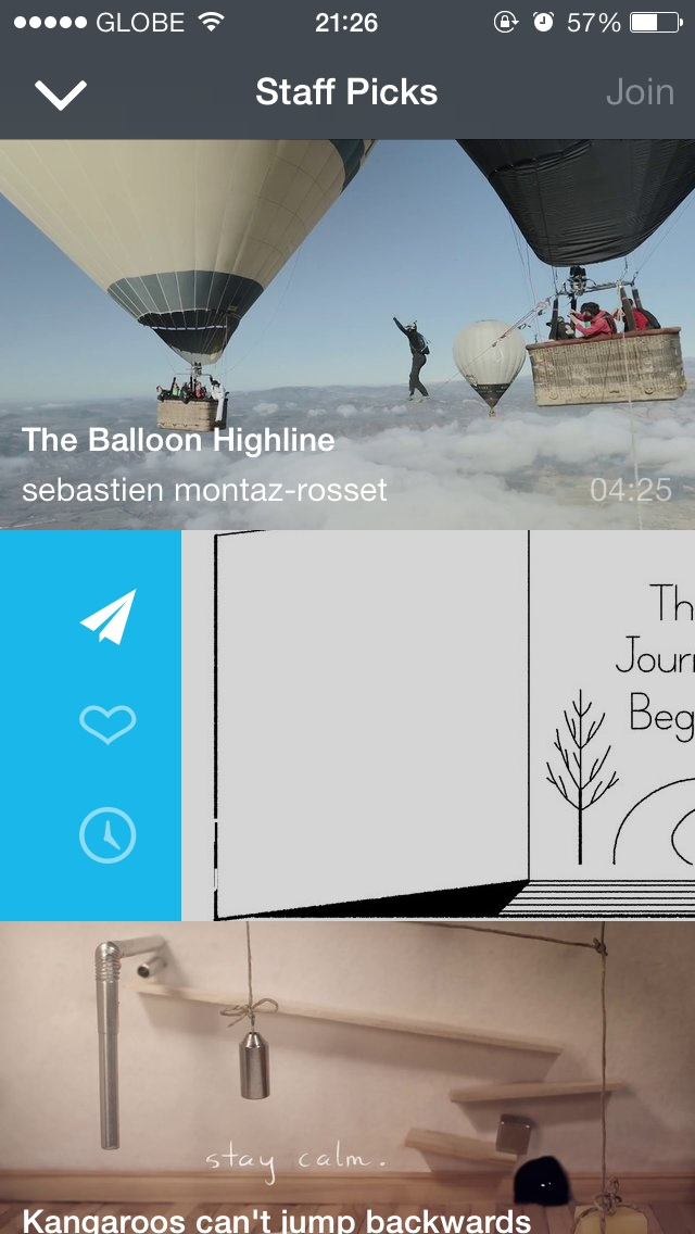 Vimeo For iOS Updated With New Swipe Gestures And Better AirDrop Integration