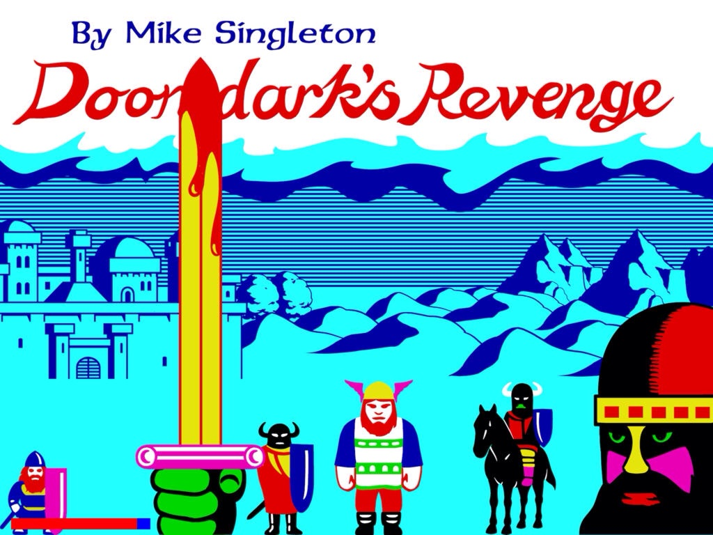 The Lords Of Midnight Retro Classic Sequel Doomdark's Revenge Out Now On iOS
