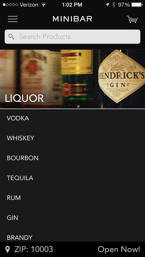 Some New Yorkers Can Now Have Liquor Brought To Their Door With The Minibar Delivery App