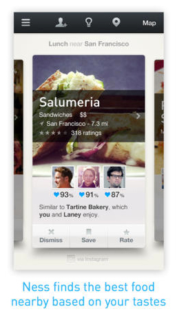 Table For Two: Reservation Service OpenTable Acquires Ness