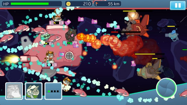 Help These Naughty Kitties Save Their Planet From Evil Aliens