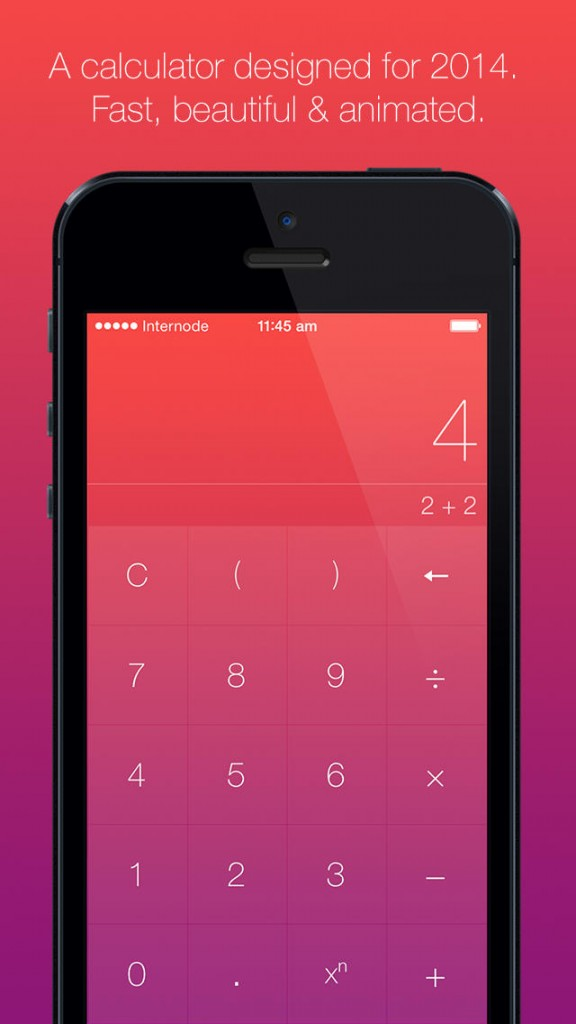 Numerical Is The Calculator For iOS 7