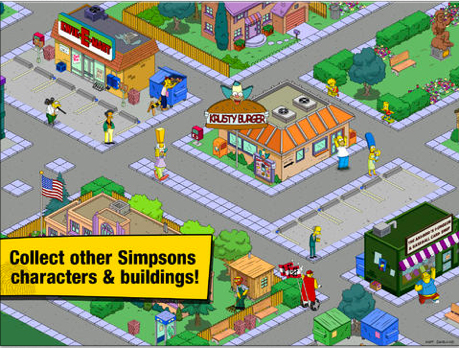 The Simpsons: Tapped Out Receives A Love-Filled Update