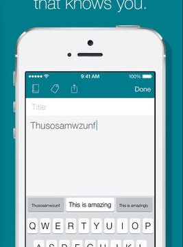 Predictive Keyboard App SwiftKey Note Receives Its First Major Update
