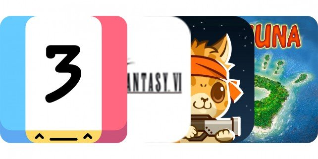 Today's Best Apps: Threes, Final Fantasy VI, Naughty Kitties And More