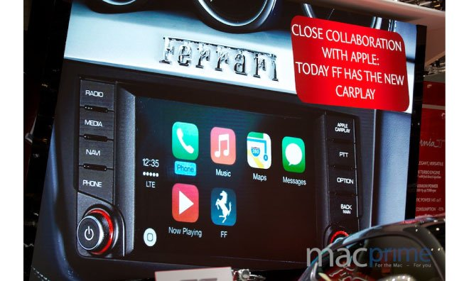 Ferrari To Bring Apple CarPlay Support To The FF Grand Tourer