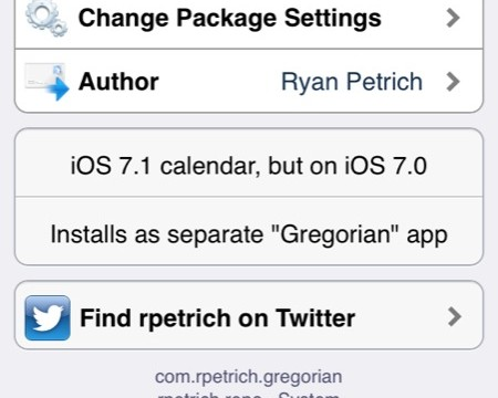 Cydia Tweak: Gregorian Brings The iOS 7.1 Calendar App To iOS 7.0.x Devices