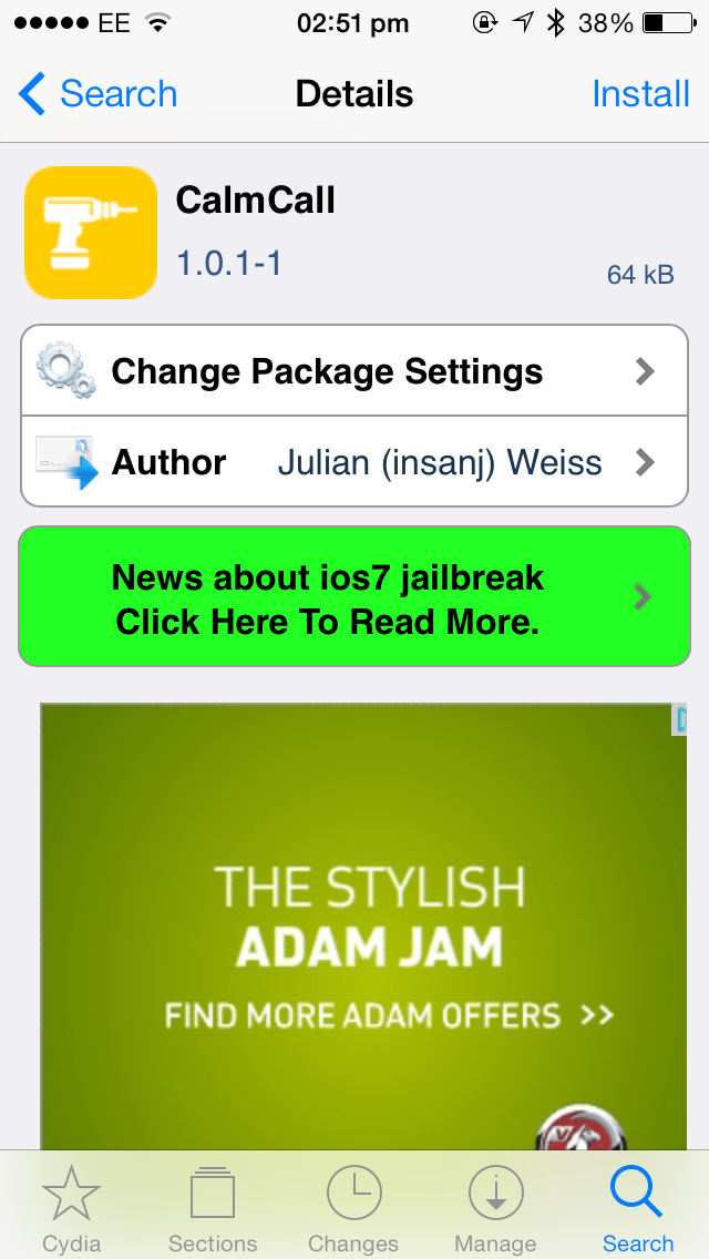 Cydia Tweak: CalmCall Brings A More Subdued Green In-Call Bar To Apple's iOS