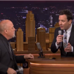 Jimmy Fallon And Billy Joel Use The Popular Loopy HD App To Create A Little Doo-Wop