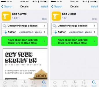 These Jailbreak Tweaks Bring 'Swipe-To-Delete' To The Built-In Clock App