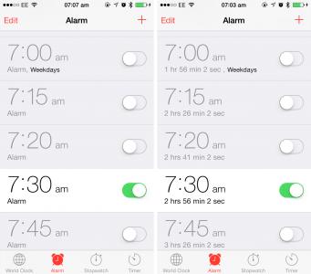 Cydia Tweak: TimeForAlarm 2 Adds A Useful Countdown For Clock App Alarms