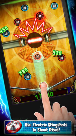 Warning: Playing Disky On Your iOS Device May Result In Air Hockey Mania