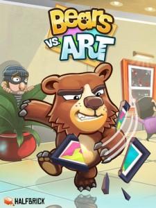 Fruit Ninja And Jetpack Joyride Creator Halfbrick Soft-Launches Bears Vs. Art
