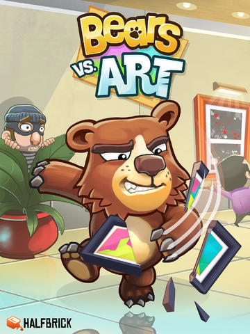 Fruit Ninja And Jetpack Joyride Creator Halfbrick Soft-Launches Bears Vs. Art