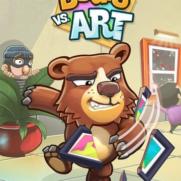 Halfbrick Unveils Debut Gameplay Trailer For Bears Vs. Art Puzzle Game