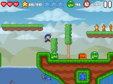 The Sequel To Retro-Style iOS Platformer Bloo Kid Has Been Released Out Of The Bloo
