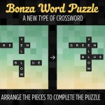 Crossword, Trivia And Word Search Elements Come Together In Bonza Word Puzzle
