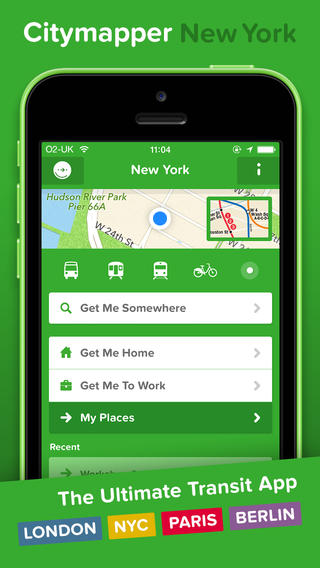 Citymapper 4.0 Brings Account Login For Data Syncing Plus Other Improvements