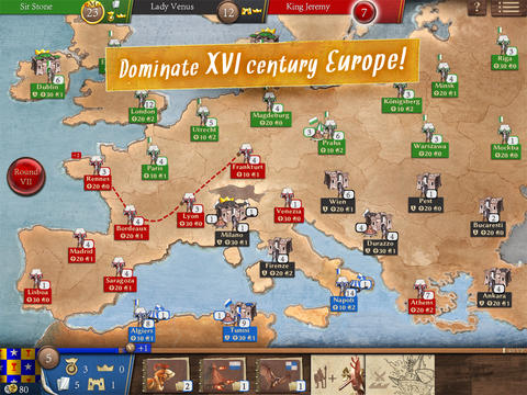 Become The Magnifico And Conquer 16th Century Europe In Da Vinci's Art Of War