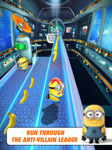 Go Underwater And Over The Moon In The New Version Of Despicable Me: Minion Rush