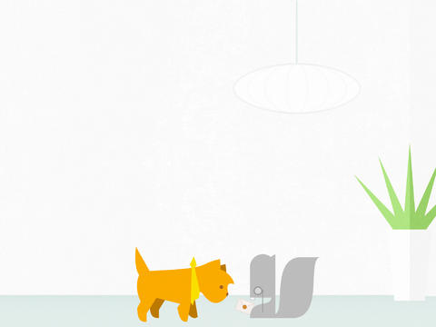 Help A Dreaming Terrier Solve Puzzles To Defeat A Diabolical Squirrel In Doggins