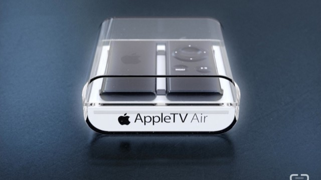 The Apple TV Meets Google's Chromecast In This 'Apple TV Air' Concept