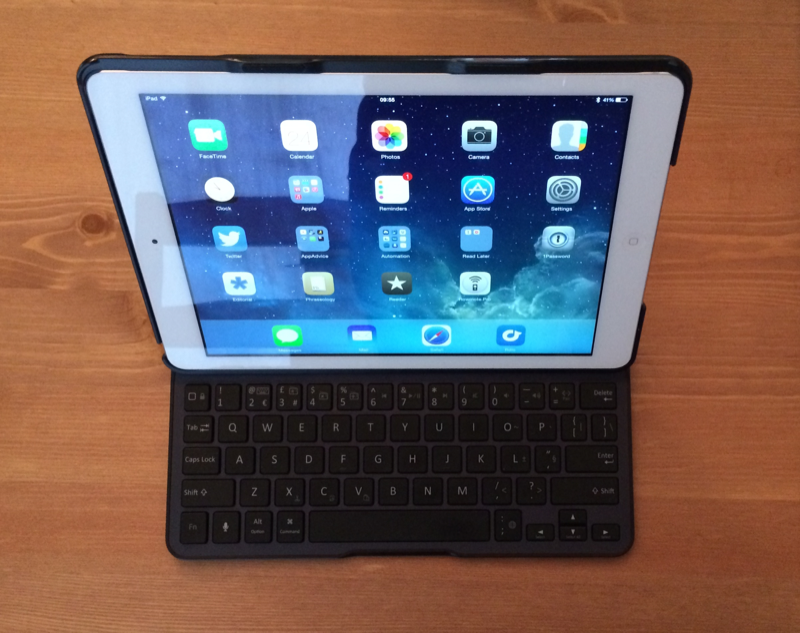 Review: Belkin's Ultimate Keyboard Case For The iPad Air
