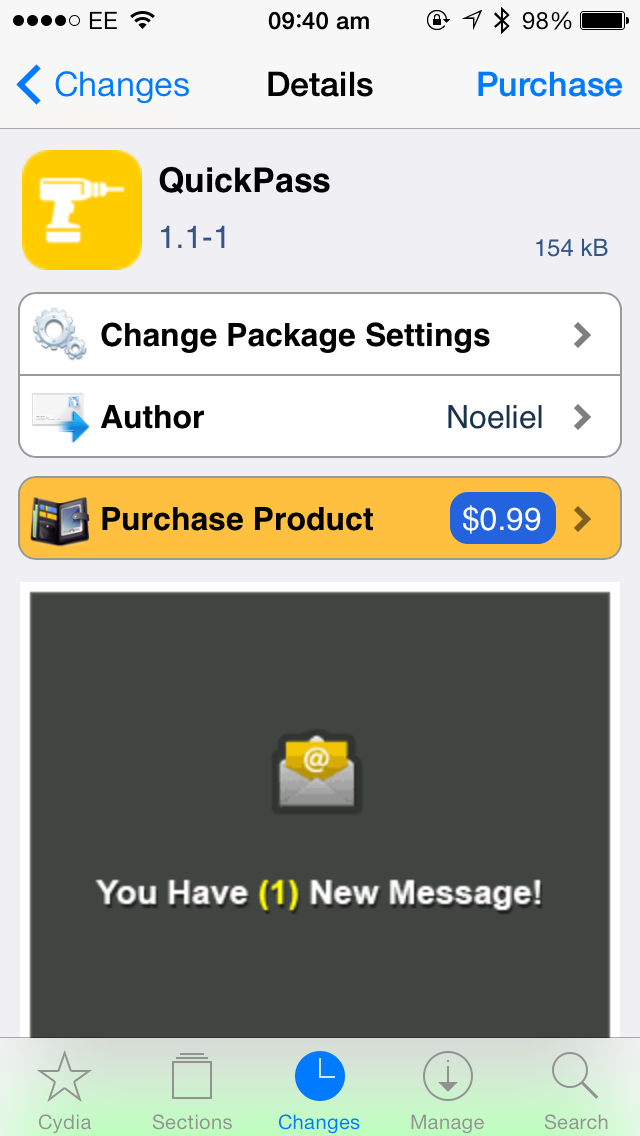 Cydia Tweak: QuickPass Adds A Useful Passcode Toggle To The Settings App